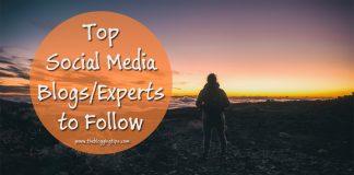 Top Social Media Blogs to Follow